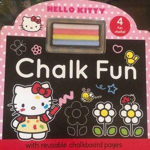 Hello Kitty Chalk Fun Children's HC Book